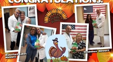 2019 Turkey Giveaway Winners!