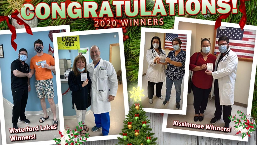 Thank You And Congratulations To All Of Our 2020 Christmas Gift Card Giveaway Winners